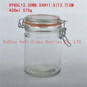 420ml Glass Storage Food Jar Household Glass Jar