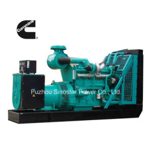 20kw to 1200kw Open Type Cummins Diesel Generator Set