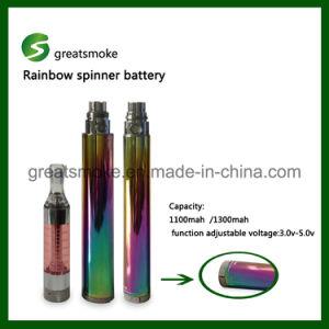 3.0-5.0V Variable Voltage EGO Spinner Battery for E-Cigarette
