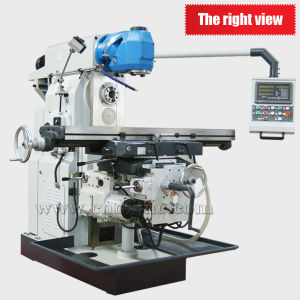 Lm1450c Hot Sale Swivel Head Universal Milling Machine pictures & photos