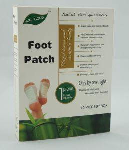 OEM Factory Bamboo Detox Foot Sleeping Patch