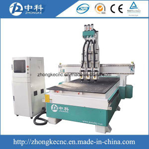 3D Three Heads Cylinder CNC Router Machine pictures & photos