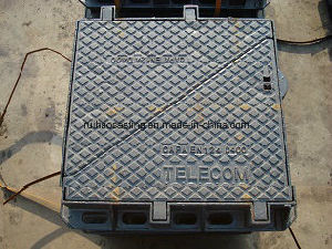 En124 D400double Triangle Manhole Cover for Telecom pictures & photos