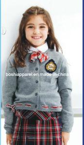 New Design School Uniform Sweater for Winter -Su52 pictures & photos