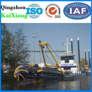 China Good Price Cutter Suction Dredger in The River pictures & photos
