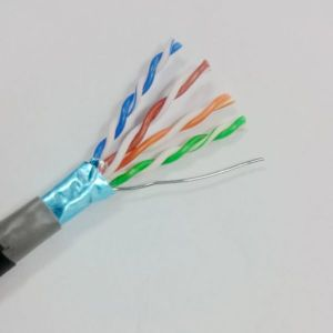 Outdoor Waterproof Cat 5e FTP LAN Network Cable Bare Solid Copper (ERS-1555252) pictures & photos