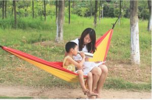 Promotional Easy-Use Portable Parachute Hammock pictures & photos