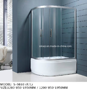En14428 Certified Shower Enclosure with High Profile Shower Tray pictures & photos