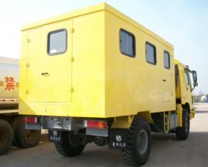 Sinotruk Mobile Garage Truck 4X4 pictures & photos