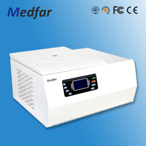 Medfar Benchtop Low-Speed Refrigerated Centrifuge LCD Display and Digital Display pictures & photos