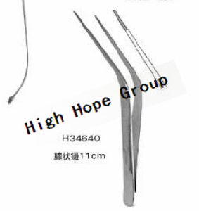 Model H34640 Medical Angled Forceps pictures & photos