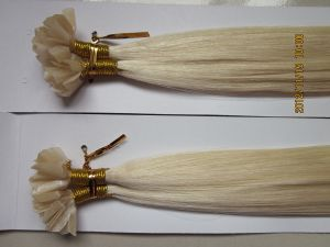 Wholesale Double Drawn Brazilian Virgin Remy V Tip Hair Extension