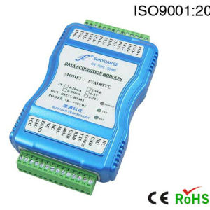 8 Channels J/K/T/E/R/S/B Type Thermocouple Signal to RS232 or RS485 a-D Converter Sy Ad-08t pictures & photos