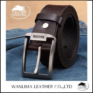 2014 New Style Top Grain Leather Belt