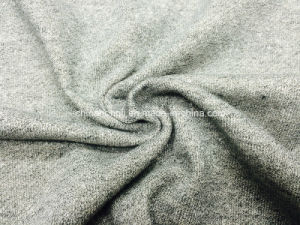 French Terry CVC Cotton Polyester 55/45 Knitting Fabric for Fleece Garment pictures & photos