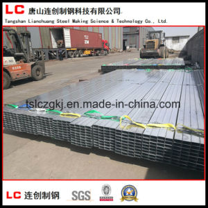 Export Standard Pre-Galvanized Rectangular Steel Pipe pictures & photos