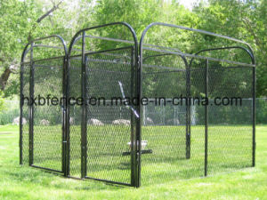 Square Tube Outdoor Wire Mesh Dog Cage pictures & photos
