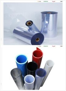Food Blister Packing Rigid Clear Thermoforming Plastic Sheet PVC pictures & photos