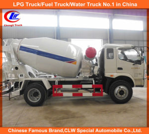 Heavy Duty Foton Forland Concrete Mixer Trucks pictures & photos