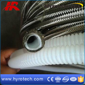 Smoothbore and Convoluted Teflon Hose with Ss304 Braid pictures & photos