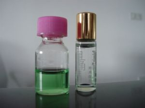 Clear Screwed Tubular Glass Bottle for Perfume Samples pictures & photos
