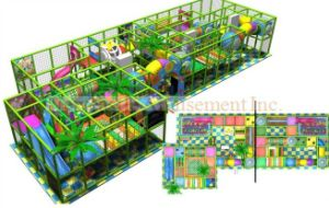 Children Welcomed Indoor Playground (NC-IP226) pictures & photos
