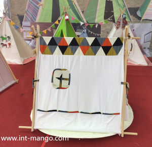 100% Cotton Indian Teepee Children Playing Tent (MW6018) pictures & photos