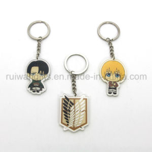 Cartoon Acrylic Keyring, Custom Logo Keyring pictures & photos