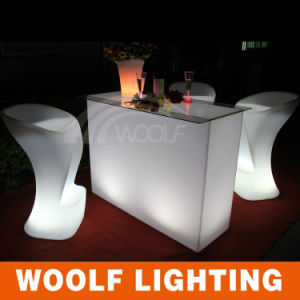 Hot Sale LED Light up Cocktail Table pictures & photos