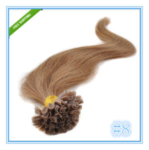 Malaysian Remy Nail U Tip Human Hair Extensions pictures & photos