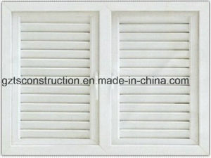 High Quality Customzied UPVC Shutter Window pictures & photos