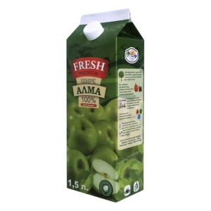 1500ml 6 Layer Gable Top Carton for Fresh Juice pictures & photos