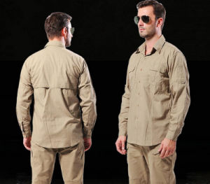 Wholesale Outdoor Long Sleeves Commander Wild Training Clothes Military Men′s Shirt pictures & photos