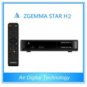 DVB-T2 Set Top Box Zgemma Star H2 Combo DVB-S2+T2 Digital Terrestrial TV Receiver pictures & photos