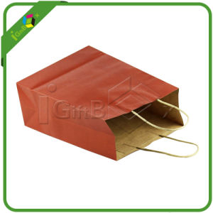 Colored Paper Bags / Red Gift Bags pictures & photos