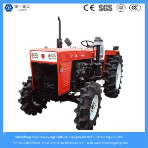 Agricultural/Farm/Mini Tractors 48HP 4WD with Implements/Rotary Tiller/Plough/Snow Blade/Mower/Trailer pictures & photos
