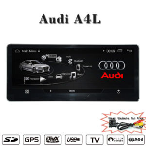 Android 4.4 10.25inch Car GPS for A4 (B9) GPS Navigation Hla 8861 pictures & photos