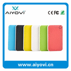 Wholesale New Design 6000 mAh Portable Power Bank with Different Color Design pictures & photos