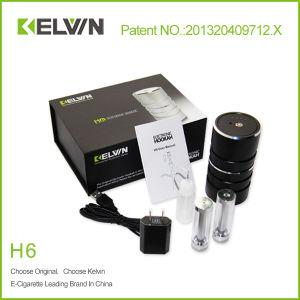New Style Portable Kelvin Electronic Hookah H6 Wholesale E Hookah