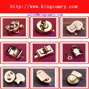 Bag Closure Press Lock Twist Lock Turn Lock Handbag Lock pictures & photos