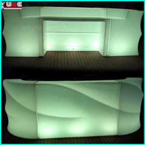 Modular Illuminated Curved Reception Desk Counter Outdoor Chair pictures & photos