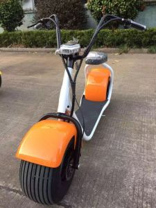 Hot Selling 1000W 60V Lithium Battery Citycoco Cheap City E Scooter/ Fat Tire Electric Scooter/Harley Electric Motrocycle pictures & photos