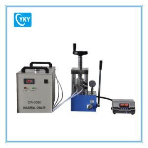300c 24t Cylindrical Electric Heating Press with Heating Mold Cy-Pch-600A pictures & photos