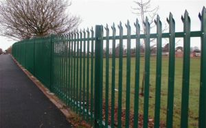 Elegant Style Four Rails Wrought Iron Fencing pictures & photos