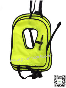 Inflatable Snorkel Vest Snorkel Jacket Free Diving Safety Jacket pictures & photos