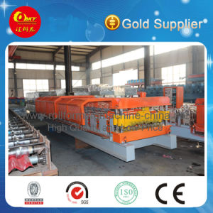 Low Price Double Layer Color Steel Forming Machine pictures & photos