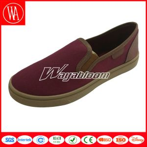 Plat Canvas Shoes Women Slippers Casual Shoes pictures & photos