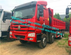 Sinotrck HOWO 8X4 Dumper Truck 336/371HP Front Lift Ethiopia