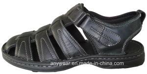 Men′s PU Sandals Shoes (815-6547) pictures & photos