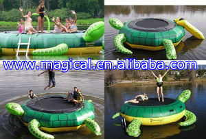 High Quality Inflatable Animal Water Trampoline (RA-063) pictures & photos